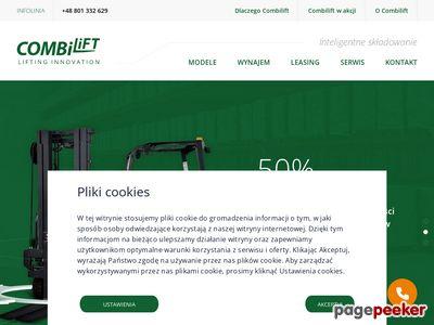 Wózki widłowe Wandalex combi lift polska