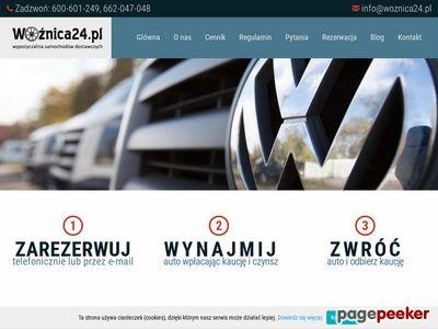 Wypożyczalnia samochodów dostawczych Kraków - woznica24.pl