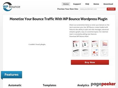 WP Bounce – Monetize Your Bounce Traffic