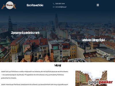 WROCEK: licencjonowani przewodnicy po Wrocławiu