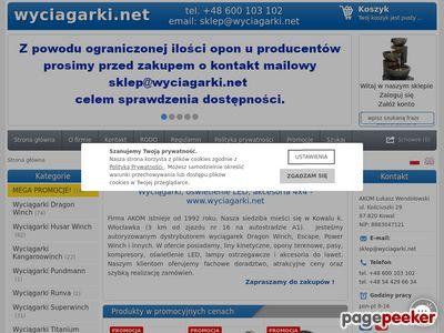 Akcesoria off road - wyciagarki.net