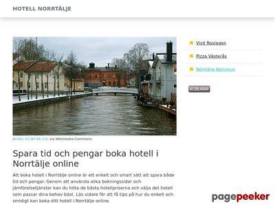 Hotell Norrtälje - http://www.xn--hotellnorrtlje-gib.se