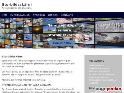 Storbildsskärm - AV-lösningar för alla situationer - http://www.xn--storbildsskrm-lfb.nu