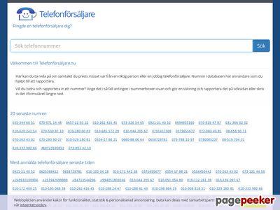 Telefonförsäljare.nu - http://www.xn--telefonfrsljare-9kb71a.nu