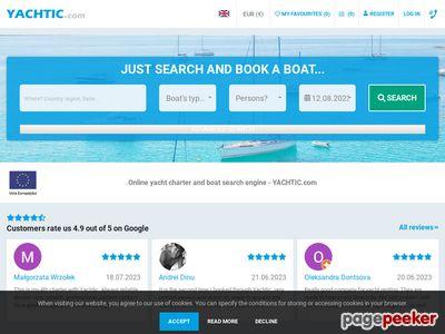 Czarter jachtów - yachtic.eu