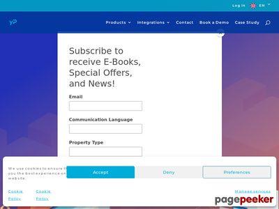 Program do rezerwacji hotelowych - yieldplanet.com