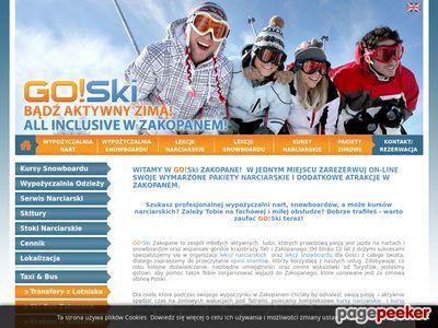 Sprzęt narciarski - sklep online Warszawa