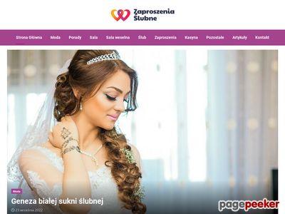 Zaproszenia ślubne EJA