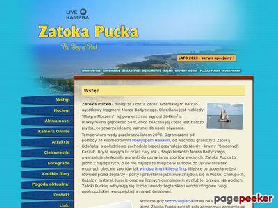 Zatoka Pucka - Wakacje nad morzem