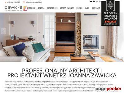 Projektowanie wnętrz Warszawa - Zawicka-ID