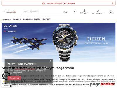 ORIENT JAPAN modne zegarki męskie