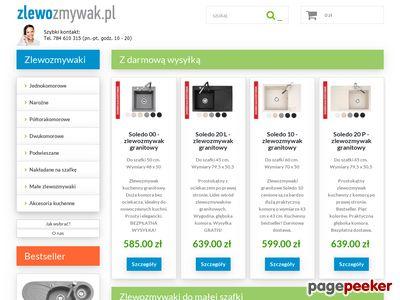 Zlewozmywak.pl - Zlewozmywaki granitowe
