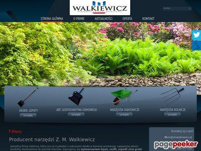 Zakład Metalowy PHU Włodzimierz Walkiewicz - narzędzia ogrodowe