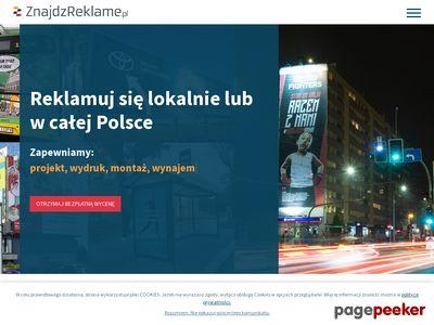 Reklama zewnętrzna - ZnajdźReklamę.pl