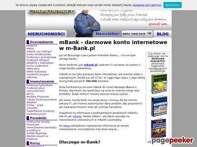 mBank - darmowe konto internetowe.