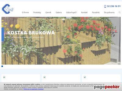 Www.zpb.com.pl | obrzeża chodnikowe Śląsk