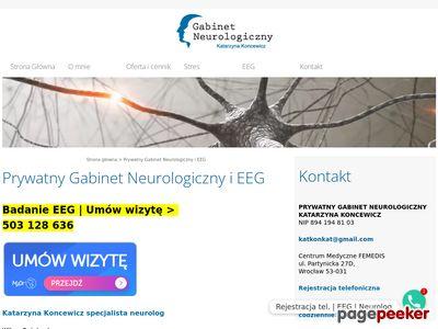 Gabinet neurologiczny Wrocław