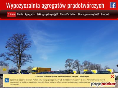 Wynajem agregatów prądotwórczych Kraków