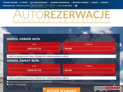 Wypozyczalania samochodów - Wypozyczalniasamochodow.zlublina.pl