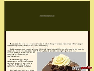 Torty weselne Gliwice - Lodziarnia Wysocki - Tort komunijny