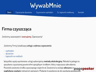 WywabMnie Nowa-Huta - Firma piorąca tapicerki