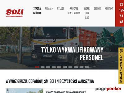 Wywoz-smieci.pl wywóz gruzu i śmieci