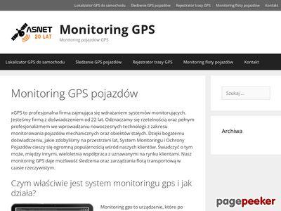 Monitoring GPS pojazdów -xgps.pl