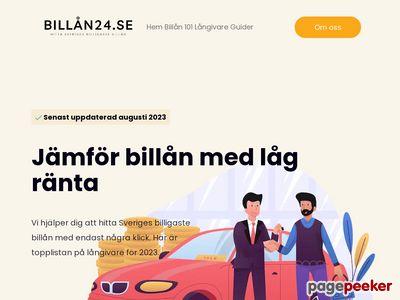Billån utan säkerhet - allt du behöver veta om billån - http://xn--billn24-hxa.se