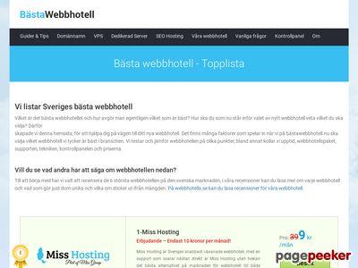 Bästa webbhotell 2011 - http://xn--bstawebbhotell-5hb.nu