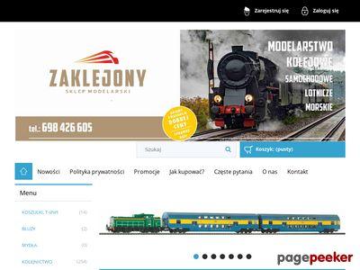 Sklep modelarski Zaklejony Warszawa Bielany