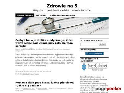 Samo Zdrowie - Zdrowie.Walbrzyszanka.pl