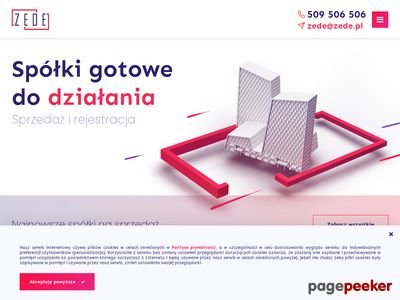 Darmowy katalog stron www - zede.pl