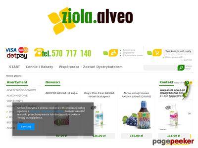 Zioła Alveo w płynie
