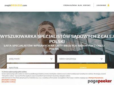 Lista biegłych sądowych z całej Polski – znajdzbieglego.com