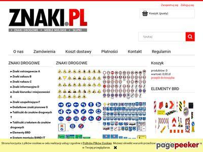 Znaki.pl - Sklep ze znakami drogowymi