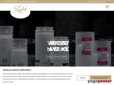 Zniczeluks.pl - producent zniczy i wkładów Ryki