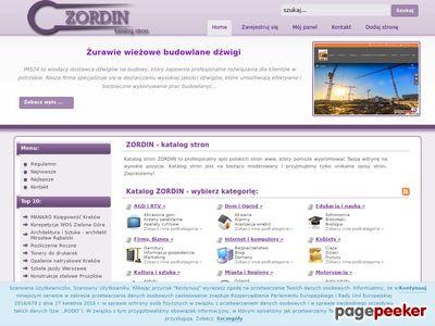 Katalog stron SEO - Zordin