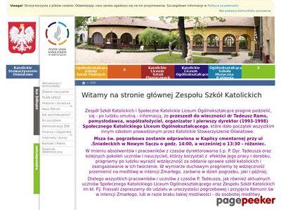 gimnazjum Nowy Sącz