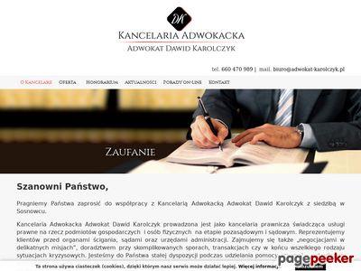 Adwokat Karolczyk
