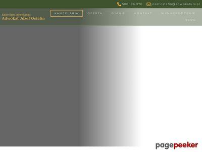 Prawnik Józef Ostafin