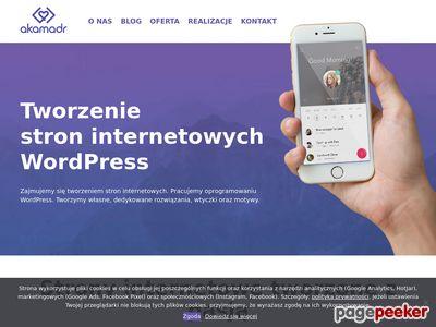 Akamadr - Tworzenie stron Internetowych Białystok
