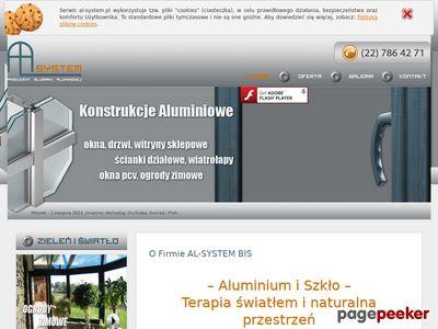 Konstrukcje aluminiowe Warszawa