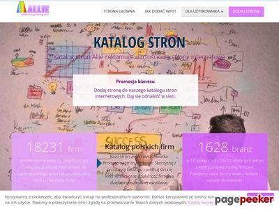 Katalog stron Allie.pl