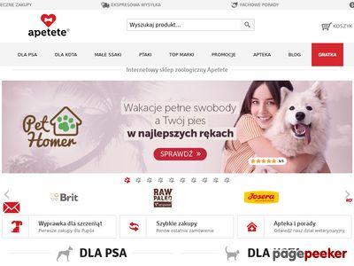 Apetete.pl Karma sklep internetowy