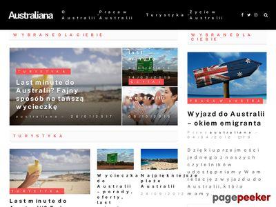 Australia - wizy i ciekawostki