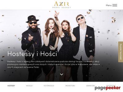 Hostessy do wynajęcia - agencja hostess AXIR, Warszawa