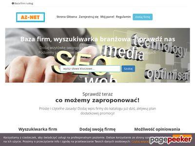 Spis firm Az-net