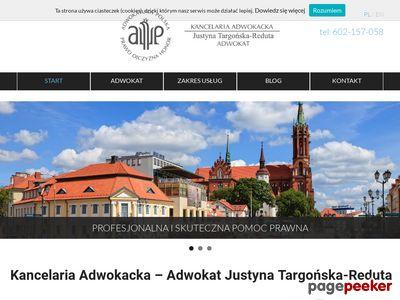 Kancelaria Adwokacka Adwokat Justyna Targońska-Reduta Białystok