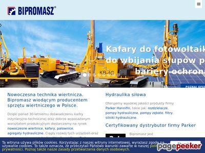 BIPROMASZ hydraulika siłowa