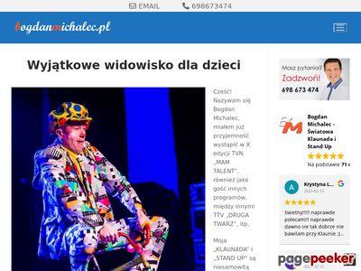 Animacje na urodziny - BogdanMichalec.pl